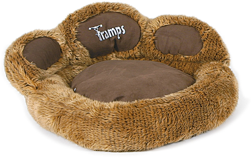 Tramps Paw Shaped Cat Bed One Heck Of A Cool